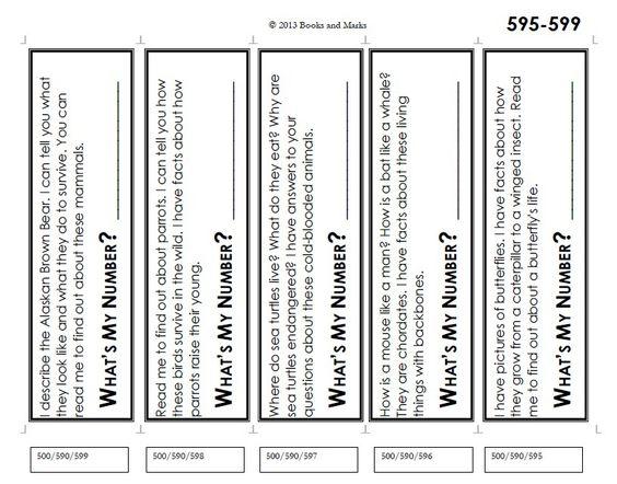 math worksheet : what s my number is a game to teach the dewey decimal system 1  : Dewey Decimal System Worksheet