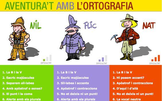 3º 4º Primaria Català Aventura ortografia