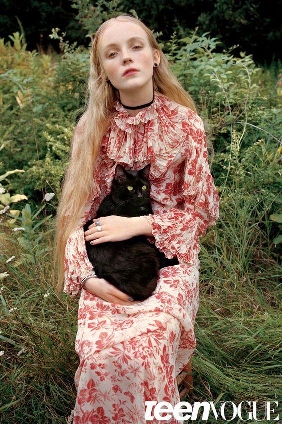 Lucan Gillespie by Yelena Yemchuk for Teen Vogue December/January 2015/2016 - Gucci Resort 2016