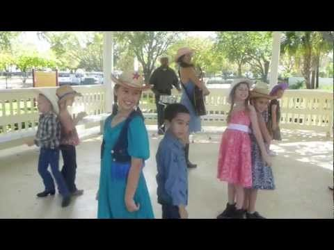 FREE App now available - Search PATTY SHUKLA in Apple Store Apps (iPad, iPhones)  http://www.PattyShuklaKidsMusic.com    Be sure to click the subscribe button and rate the video! :)    A fun square dance action song for kids incorporating gross motor skills - moving around, clapping hands, bowing - along with saying hello and thank you. This song is ...