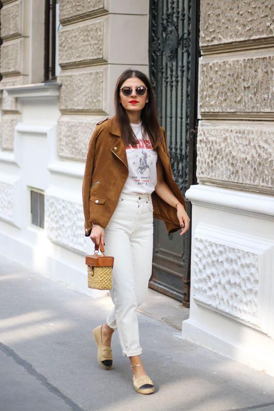 Summer Bucket List 2018 Fashionnes Mode Lifestyleblog Aus Wien White Denim Outfit Winter Fashion Outfits Mom Jeans Outfit