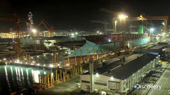 La construcción de la nave más grande del mundo (en 76 segundos)