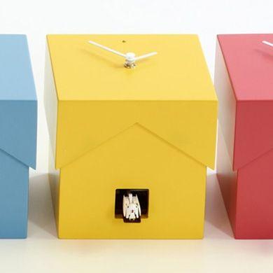 Cucubo, petite horloge coucou, Diamantini & Domeniconi, 202 euros eshop Cerise sur la deco