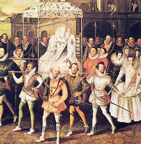 Появление королевы Елизаветы на улицах Лондона
