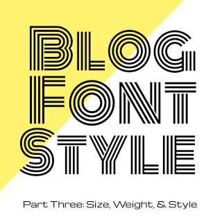 Blog Font Style with CSS - Size, Weight, and Style | Pinterest ...