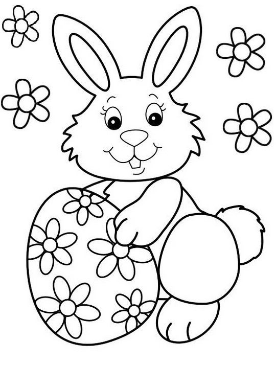 Best Easter Bunny Coloring Sheet For Children Easter Bunny Pictures Bunny Coloring Pages Easter Coloring Sheets