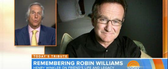 Henry Winkler on young Robin Williams: 'You knew you were in the presence of greatness'