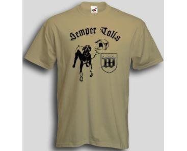 T-Shirt Semper Talis / mehr Infos auf: www.Guntia-Militaria-Shop.de