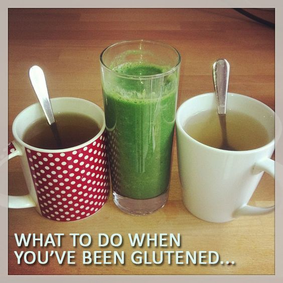 Some of our favorite go-to remedies and tips for aiding your recovery after a glutening.