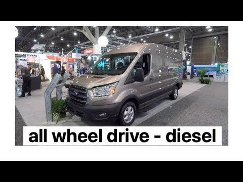 New 2020 Awd Ford Transit Cargo Van Aka Family Hauler And Overland