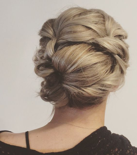 Whimsical updo! Great for galas, weddings or prom! Just did this at work today!