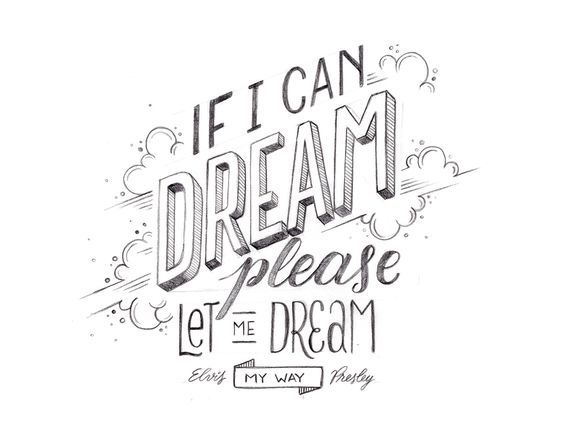 DREAM - Elvis Presley on Behance