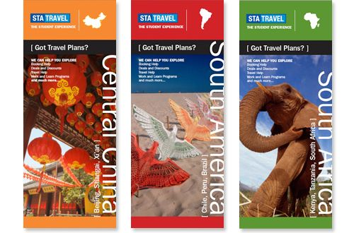 travel brochure cover design idea Project Inspiration and Ideas - travel brochure