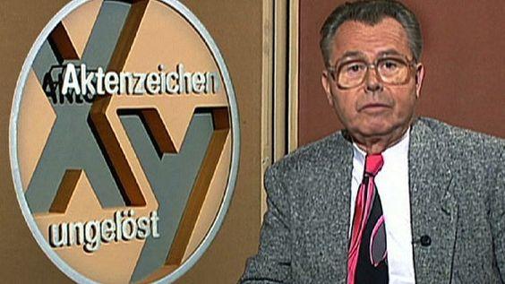 Aktenzeichen XY ungelöst - Eduard Zimmermann