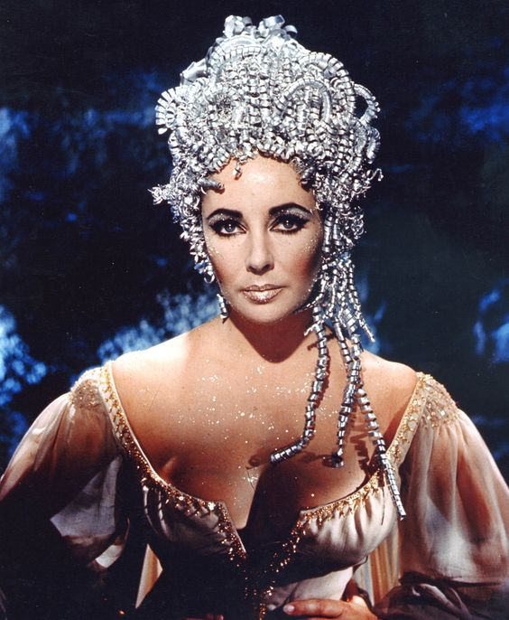 Elizabeth Taylor in Doctor Faustus, 1967 (this is her probably going to the store lol)