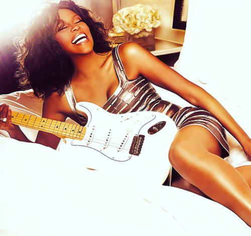 RIP whitney houston your death sadness me beyond comprehension. We will ALWAYS love you.. <3