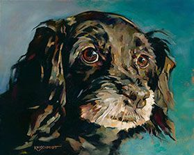 KMSchmidt Dog Paintings... her cats are marvelous too.