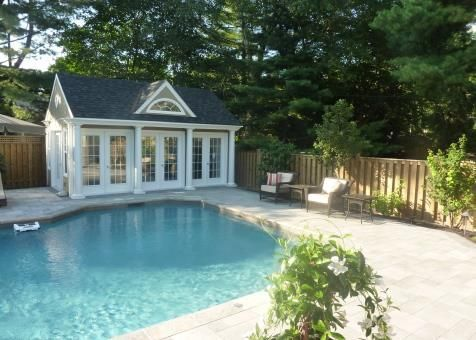 Windsor Pool Houses 20x20ft In 2020 Pool Houses Pool House Plans Pool House Interiors