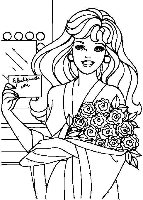 Pin By Tsvetelina On Barbie Coloring Free Kids Coloring Pages Barbie Coloring Coloring Books