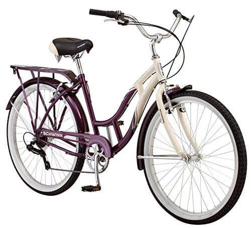 """Purple 26/"""" Firmstrong Urban Lady Seven Speed Women/'s Beach Cruiser Bike"""