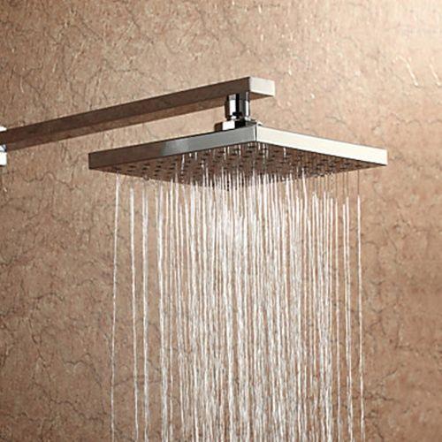 Square Rain 20x20cm Shower Head A Grade Abs Faucetsuperdeal Com