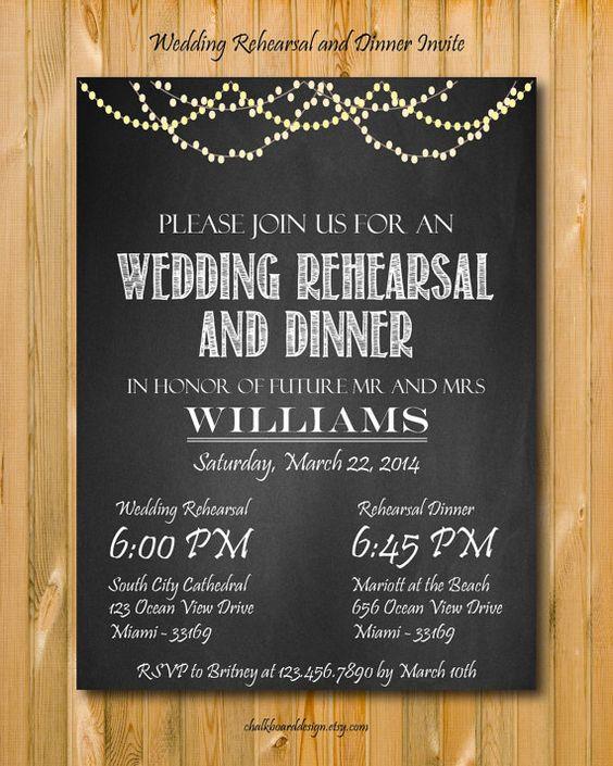 Wedding Rehearsal Invitations: Rehearsal Dinner Invitations, Dinner Invitations And
