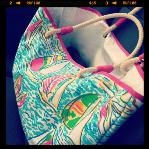 YGR tote :): Beachbag Lillypultzer, Beach Totes, Bag Infatuation, Beach Bags, Lilly Beach, Lilly Bags