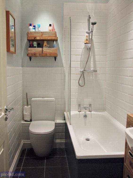 صور ديكورات حمامات مودرن افكار واشكال حمامات صغيرة وكبيرة Bathroom Layout Small Master Bathroom Small Bathroom