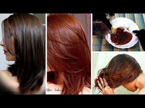 Natural Brown Hair Dye 100 Homemade With Simple Ingredients Urdu Hindi Youtube Brown Hair Dye Natural Brown Hair Natural Hair Dye Brown