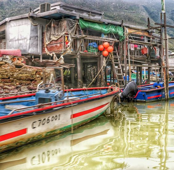 Tai O fishing village. ... my capture by proudy201