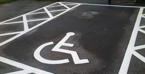 Parkplatzmarkierungen In East Ayrshire Parkplatz Linie Markierung Ost Flooring Ayrshire East Flooring Linie Markierung Car Parking Park Car