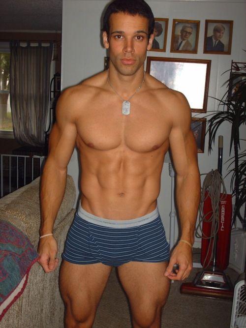 Hunky man. I wanna be like him when I grow up! :D