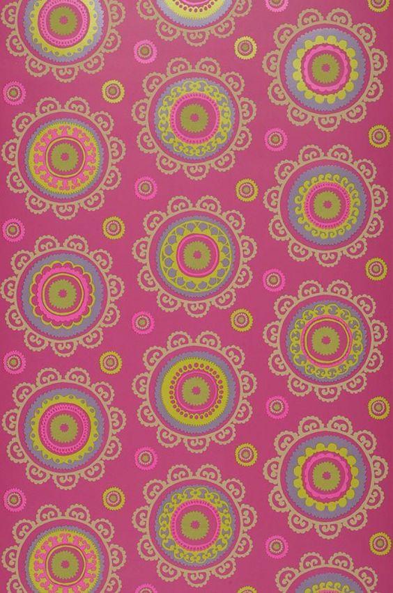 Bragi | I love the 70s | Padrões de papel de parede | Papel de parede dos anos 70