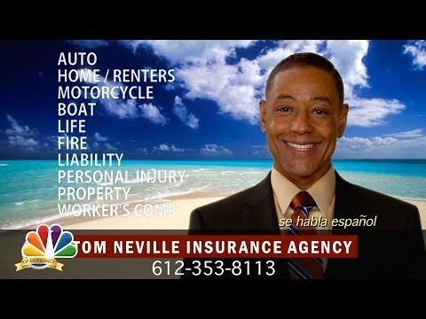 Youtube Revolution Tom Neville Insurance Agency Commercial