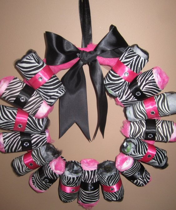 Pink And Zebra Baby Shower Theme