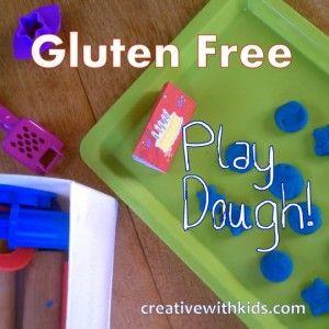 how to make gluten free playdough