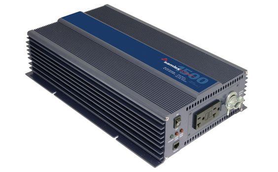 Samlex PST-1500-12 Pure Sine Wave Inverter, Input: 12 VDC, Output: 120 VAC, 1500 Watts, ETL Listed