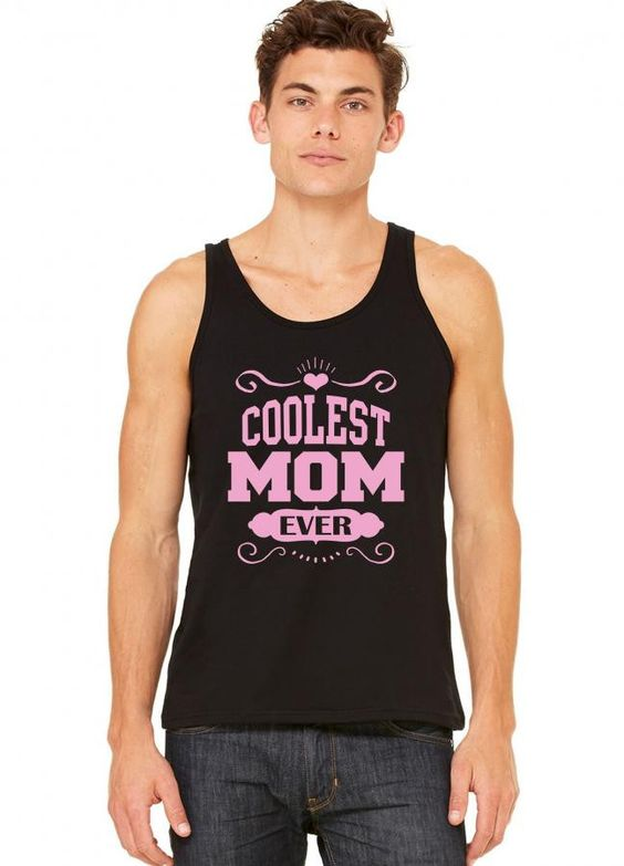 coolest mom ever tank top