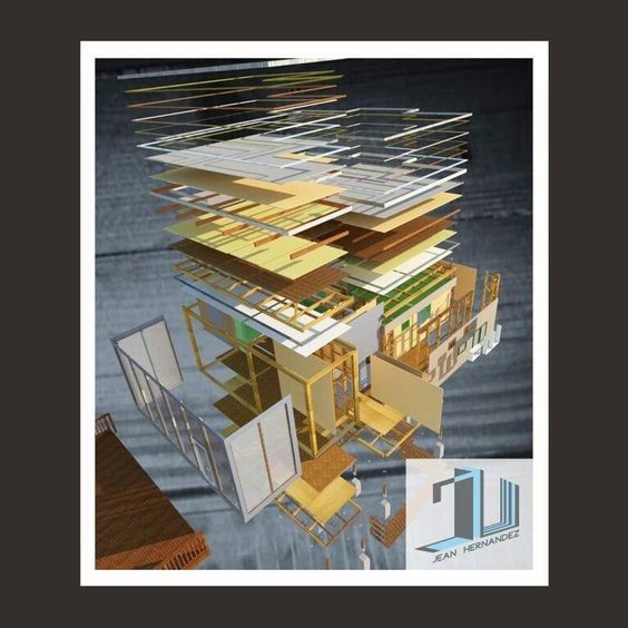 Componentes arquitectura en Madera