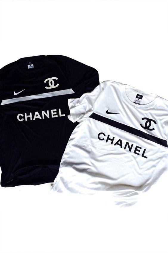 Chanel x Nike x Football Jersey