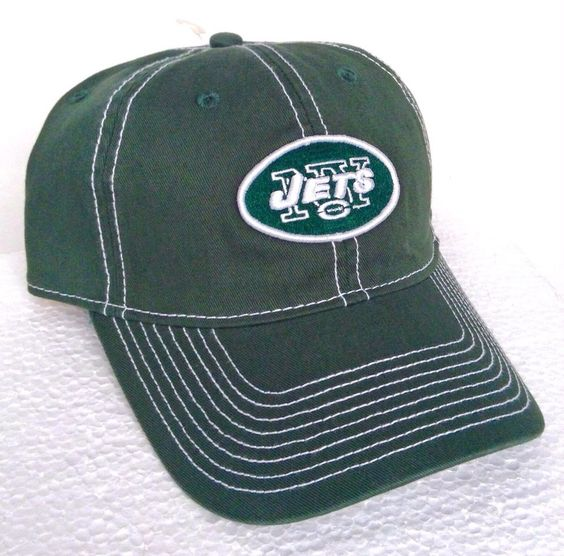 new Green/White NEW YORK JETS HAT Casual-Relaxed-Fit Cotton Men/Women Golf Cap #Reebok #NewYorkJets