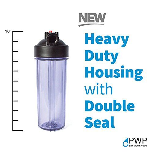 Pro Water Parts Pwp Standard Clear Whole House Filter Housing 3 4 Under Sink Water Filters Filters Water Filtration