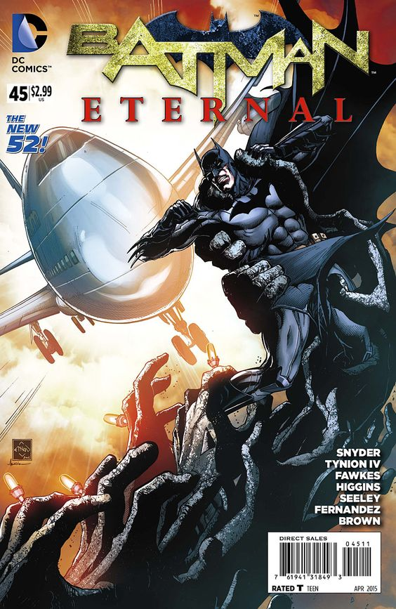 Preview: Batman Eternal #45, Cover - Comic Book Resources
