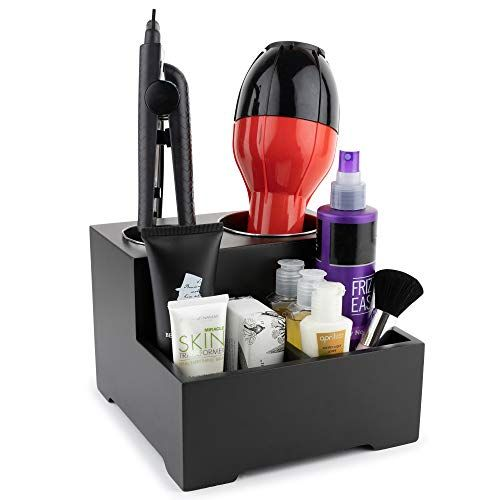 Stock Your Home Hair Care Organizer Blow Dryer Holder Hair Styling Station Bathroom Vanity Countertop Organize Hair Stations Care Organization Blow Dryer