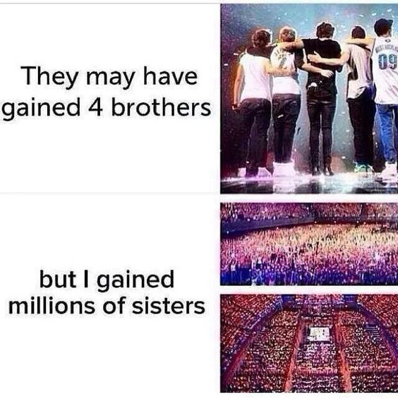 Love my Directioner sisters!