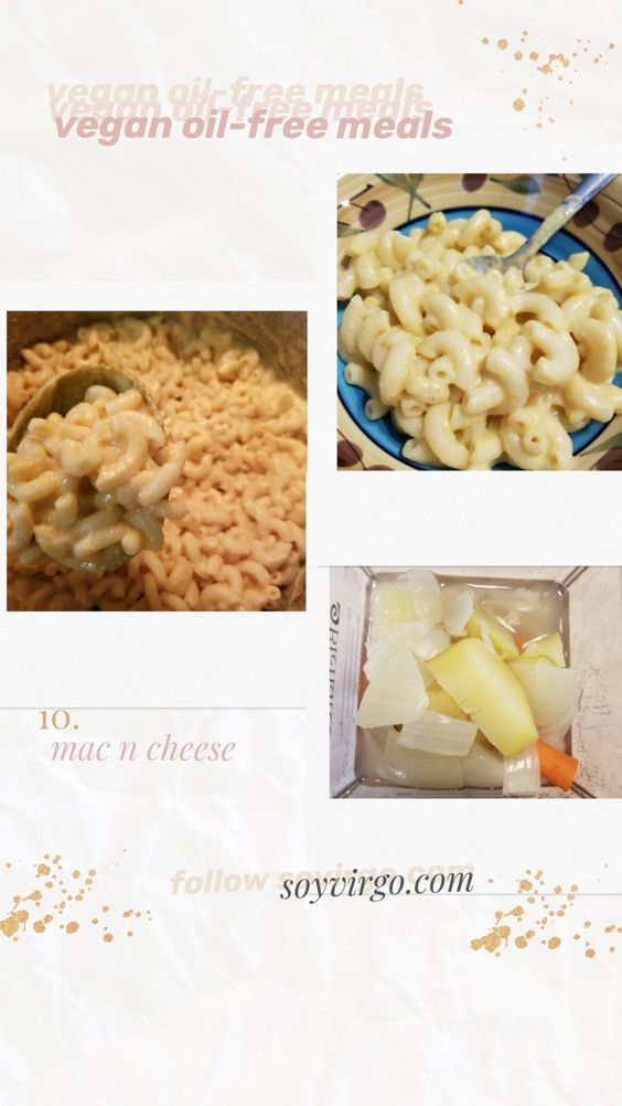 vegan mac and cheese with carrots and potatoes vegan oil-free meals tumblr pinterest aesthetic vegan plant based | soyvirgo.com