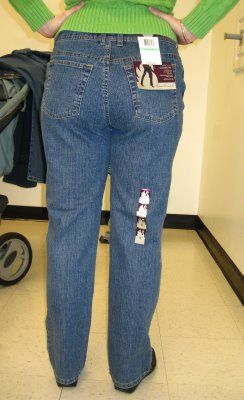 How to avoid Mom Jeans: a scientific study.  This is seriously hilarious!!! And genius!