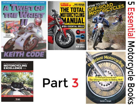 5 Essential Motorcycle Books - Part 3