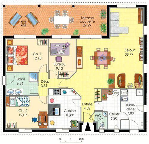 Plan De Maison A 4 Chambres Selection De 14 11