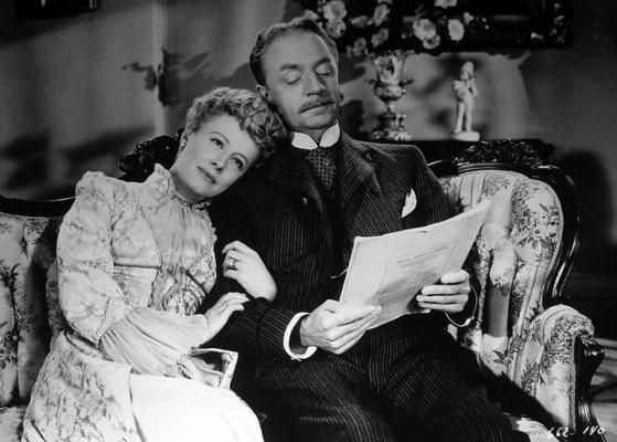 Irene Dunne and William Powell in Life with Father: